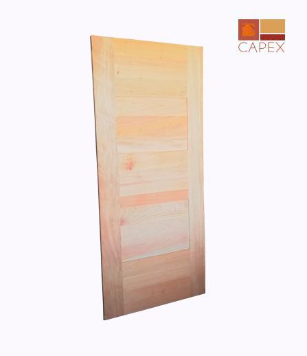 Puerta Modelo Jade Cedro color Natural